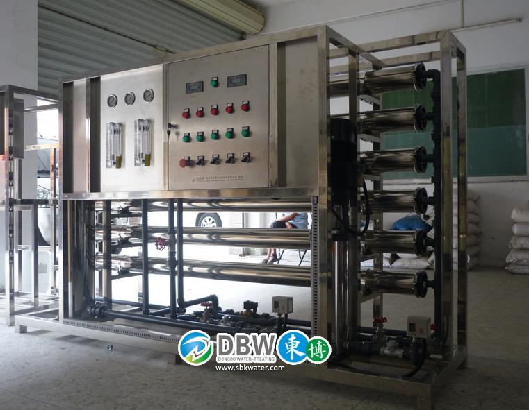 清洗镀膜用工业超纯水机