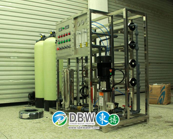 电镀涂料用工业超纯水机,
